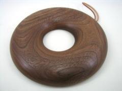 【受注制作】Bagle Trivet 鍋敷き 18cm(ウォルナット)