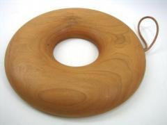 【受注制作】Bagle Trivet 鍋敷き 18cm(チェリー)