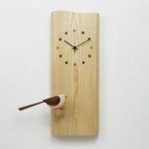 小鳥のモビール時計 1羽