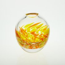 四季花瓶S 秋(オレンジ)