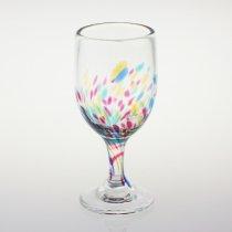 虹ワイングラス
