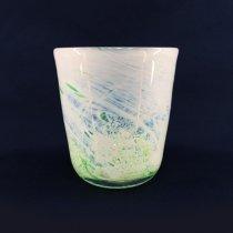 北の彩ロックグラス グリーン
