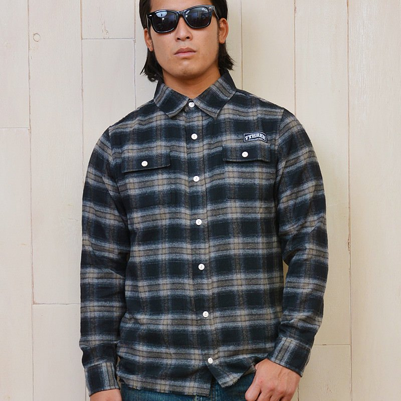 FLANNEL SHIRT JKT 16AW