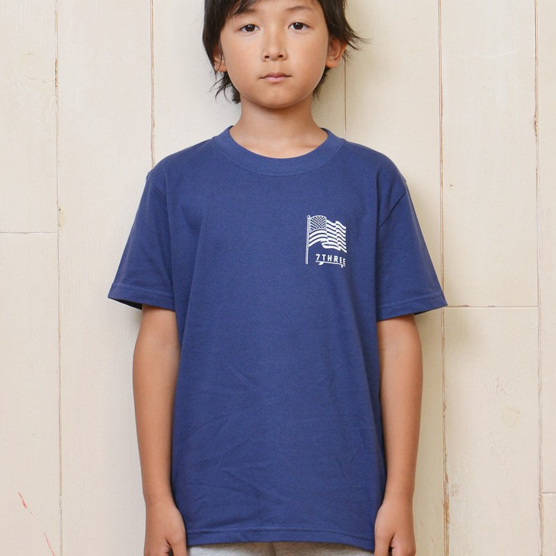 7THREE CALIFORNIA KIDS T-SHIRT 18AW