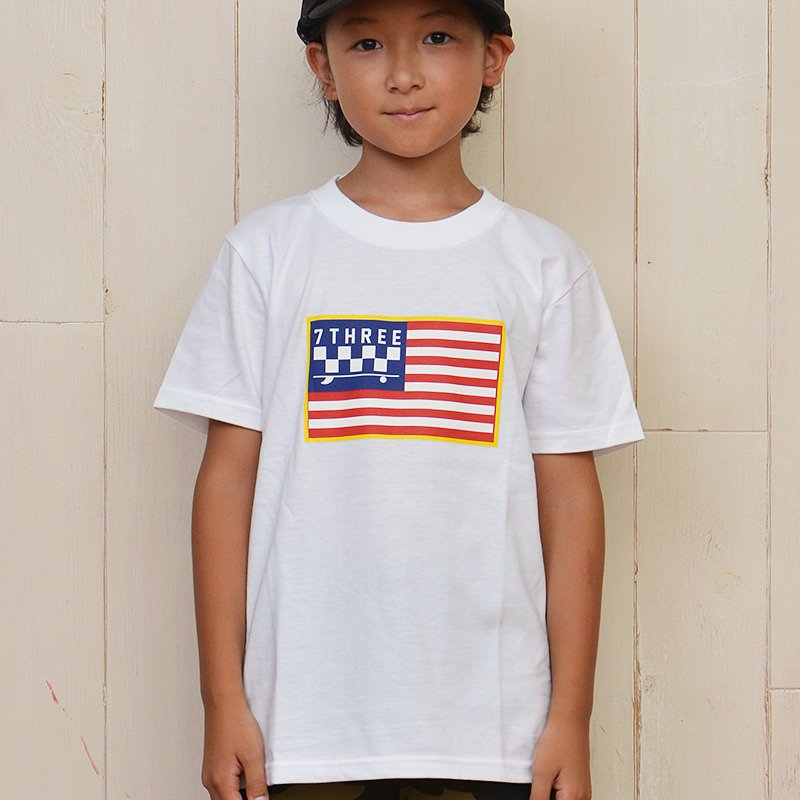7THREE USA CALIFORNIA KIDS T-SHIRT 18AW