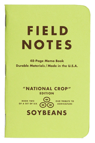 FIELD NOTES フィールドノート メモ帳 ノート ボールペン 鉛筆 ステーショナリー The National Crop Edition