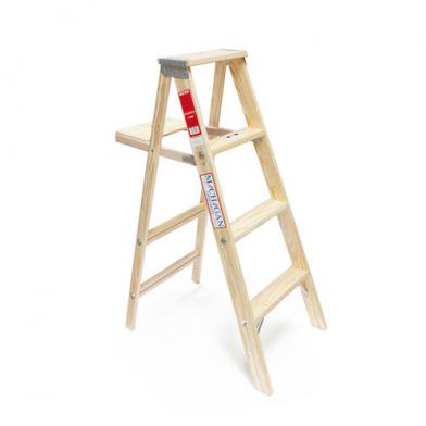 "Wood Step Ladder ""Size 4"""