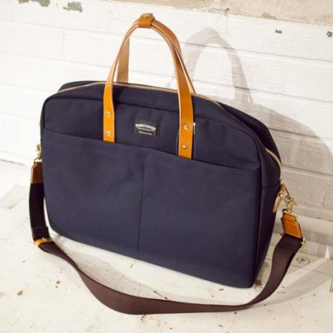 WONDER BAGGAGE ワンダーバゲージ GOODMANS BRIEFCASE ネイビー