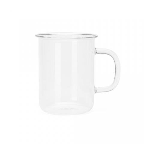 Catamount Glassware Glass Handle Mug (ガラス製マグカップ) 【14oz】 420ml