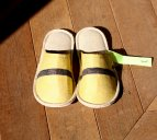 loomer (ルーマー) loomer Art Slippers vibram sole【Ibory x Yellow】