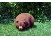 Chic Sin Design Big Sleeping Grizzly Cub Beanbag スリーピング グリズリー ベア クッション (Small Size)