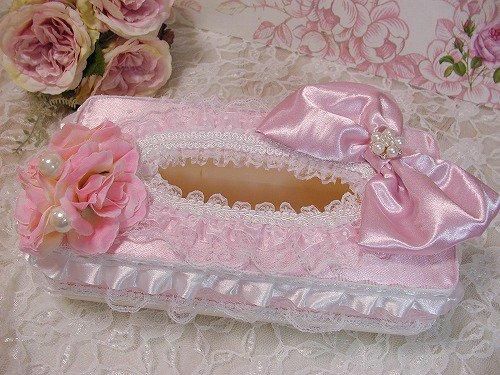 フリルプリンセス 姫デコ ティッシュボックスの画像