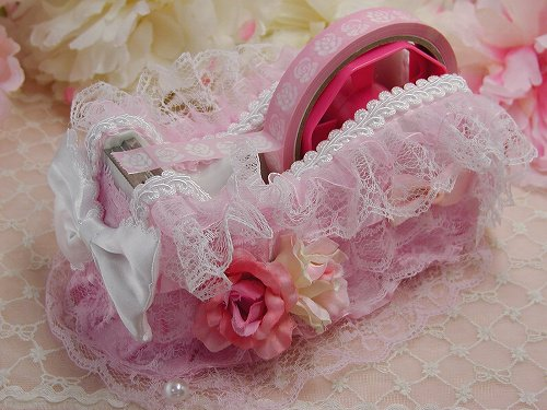 フリルプリンセス 姫デコ テープカッターの画像