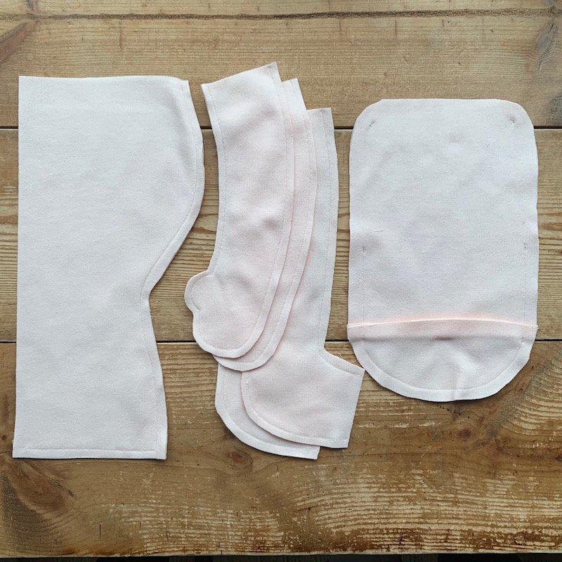 40cmサイズ縫製済みコットンジャージ
