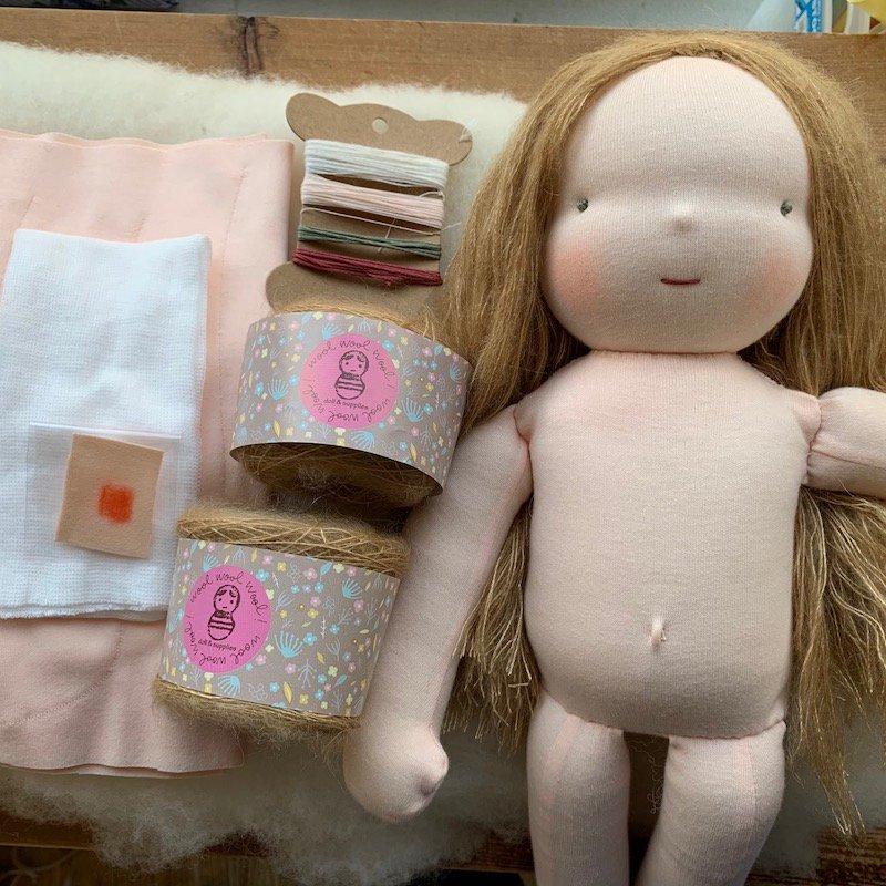 はじめての手作り人形キット*40cmサイズ