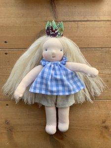 白い髪の毛の女の子*20cm