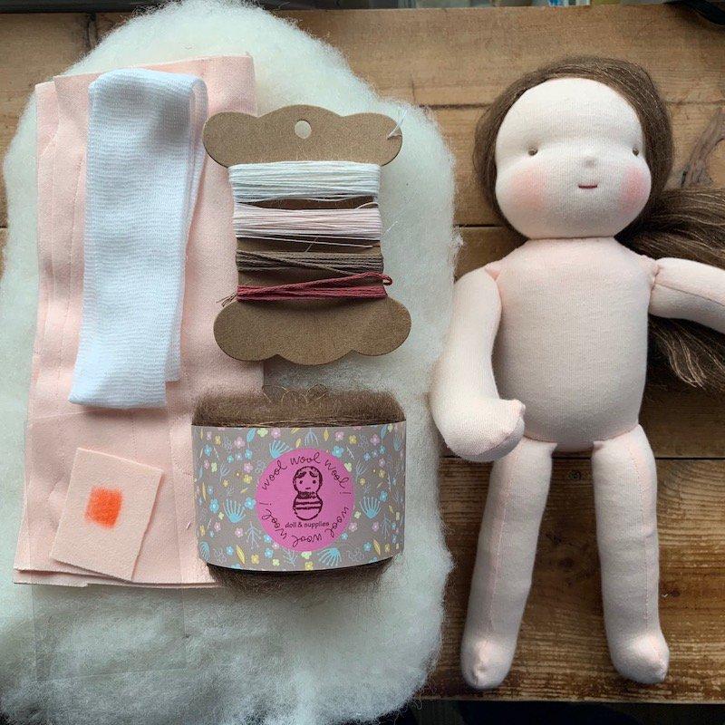 はじめての手作り人形キット*30cmサイズ