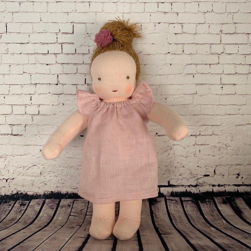 おだんごちゃん*ピンク*20cm