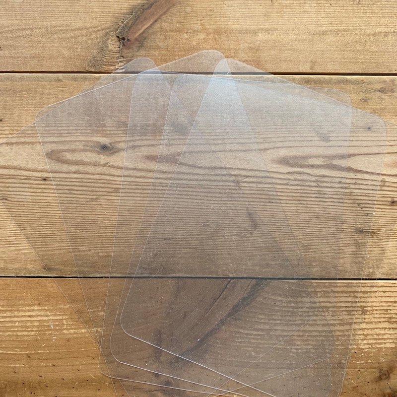 薄ビニール板