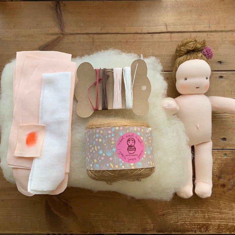 はじめての手作り人形キット*20cmサイズ
