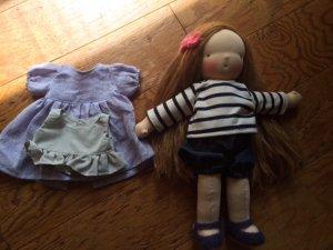 人形服パターン1+2+レシピ付き