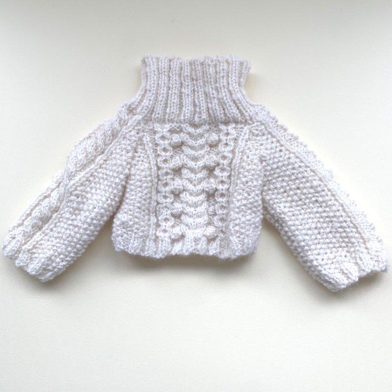 ケーブル編みセーター *40cm