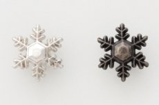 飾りカシメ 【雪結晶1】