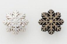飾りカシメ(雪結晶2)【在庫限り】