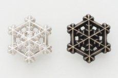飾りカシメ(雪結晶3)【在庫限り】