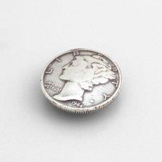 USコインコンチョレプリカ リバティー(ネジ式)17mm