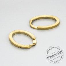 真鍮製ダエンキーリング(二重リング)