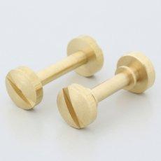 真鍮製キーポスト