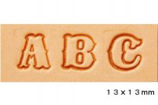 アルファベット 刻印セット