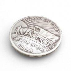 USコインコンチョレプリカ オレゴントレイル(ネジ式) 30mm