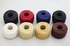 手縫いロウ引き麻糸