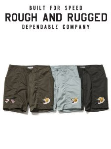 <img class='new_mark_img1' src='https://img.shop-pro.jp/img/new/icons16.gif' style='border:none;display:inline;margin:0px;padding:0px;width:auto;' />40%OFF SALE ROUGH AND RUGGED (ラフアンドラゲッド) IDEE SHORTS (ナイロンショーツ) 3color