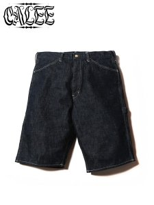 <img class='new_mark_img1' src='//img.shop-pro.jp/img/new/icons1.gif' style='border:none;display:inline;margin:0px;padding:0px;width:auto;' />CALEE (キャリー) PAINTER DENIM SHORT PANTS (ペインターデニムショーツ) Indigo