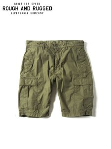 <img class='new_mark_img1' src='https://img.shop-pro.jp/img/new/icons16.gif' style='border:none;display:inline;margin:0px;padding:0px;width:auto;' />40%OFF SALE ROUGH AND RUGGED (ラフアンドラゲッド) DART DIVER (カーゴショーツ) Olive