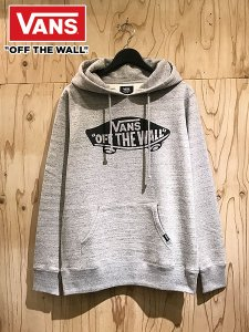 <img class='new_mark_img1' src='//img.shop-pro.jp/img/new/icons1.gif' style='border:none;display:inline;margin:0px;padding:0px;width:auto;' />VANS (バンズ) OFF THE WALL PULLOVER PARKA (プルオーバーパーカー) Gray