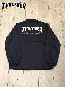 <img class='new_mark_img1' src='//img.shop-pro.jp/img/new/icons16.gif' style='border:none;display:inline;margin:0px;padding:0px;width:auto;' />SALE THRASHER (スラッシャー) MAG COACH JACKET (コーチジャケット) Navy