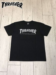 <img class='new_mark_img1' src='//img.shop-pro.jp/img/new/icons1.gif' style='border:none;display:inline;margin:0px;padding:0px;width:auto;' />THRASHER (スラッシャー) ALLOVER HOMETOWN S/S T-SHIRT (プリントTシャツ) Black
