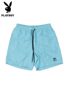 <img class='new_mark_img1' src='//img.shop-pro.jp/img/new/icons1.gif' style='border:none;display:inline;margin:0px;padding:0px;width:auto;' />PLAYBOY (プレイボーイ) SHORT PANTS (ショートパンツ) Blue