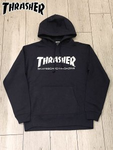 <img class='new_mark_img1' src='//img.shop-pro.jp/img/new/icons1.gif' style='border:none;display:inline;margin:0px;padding:0px;width:auto;' />THRASHER (スラッシャー) MAG LOGO HOODIE (プルオーバーパーカー) Navy