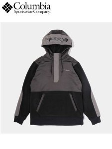 <img class='new_mark_img1' src='https://img.shop-pro.jp/img/new/icons1.gif' style='border:none;display:inline;margin:0px;padding:0px;width:auto;' />Columbia (コロンビア) Exploration Pullover Hoodie (フリースパーカー) Black