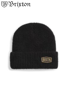 <img class='new_mark_img1' src='https://img.shop-pro.jp/img/new/icons1.gif' style='border:none;display:inline;margin:0px;padding:0px;width:auto;' />BRIXTON (ブリクストン) MALT BEANIE (ビーニー/ニット帽) Black