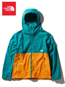 <img class='new_mark_img1' src='//img.shop-pro.jp/img/new/icons43.gif' style='border:none;display:inline;margin:0px;padding:0px;width:auto;' />THE NORTH FACE (ザノースフェイス) Compact Jacket (コンパクトジャケット) FO (フレームオレンジ/ファンファーレグリーン)
