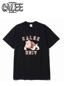 <img class='new_mark_img1' src='https://img.shop-pro.jp/img/new/icons16.gif' style='border:none;display:inline;margin:0px;padding:0px;width:auto;' />40% OFF SALE CALEE (キャリー) Bull dog t-shirt (プリントTシャツ) Black