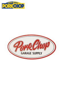 <img class='new_mark_img1' src='https://img.shop-pro.jp/img/new/icons43.gif' style='border:none;display:inline;margin:0px;padding:0px;width:auto;' />PORKCHOP GARAGE SUPPLY (ポークチョップガレージサプライ) PORKCHOP OVAL STICKER (ステッカー) SMALL