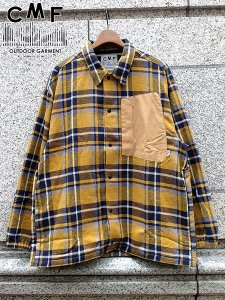 <img class='new_mark_img1' src='//img.shop-pro.jp/img/new/icons1.gif' style='border:none;display:inline;margin:0px;padding:0px;width:auto;' />COMFY OUTDOOR GARMENT (コムフィーアウトドアガーメンツ) INTERVAL JK (コットン コーチジャケット) Mustard Check