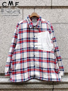 <img class='new_mark_img1' src='//img.shop-pro.jp/img/new/icons1.gif' style='border:none;display:inline;margin:0px;padding:0px;width:auto;' />COMFY OUTDOOR GARMENT (コムフィーアウトドアガーメンツ) INTERVAL JK (コットン コーチジャケット) White Check